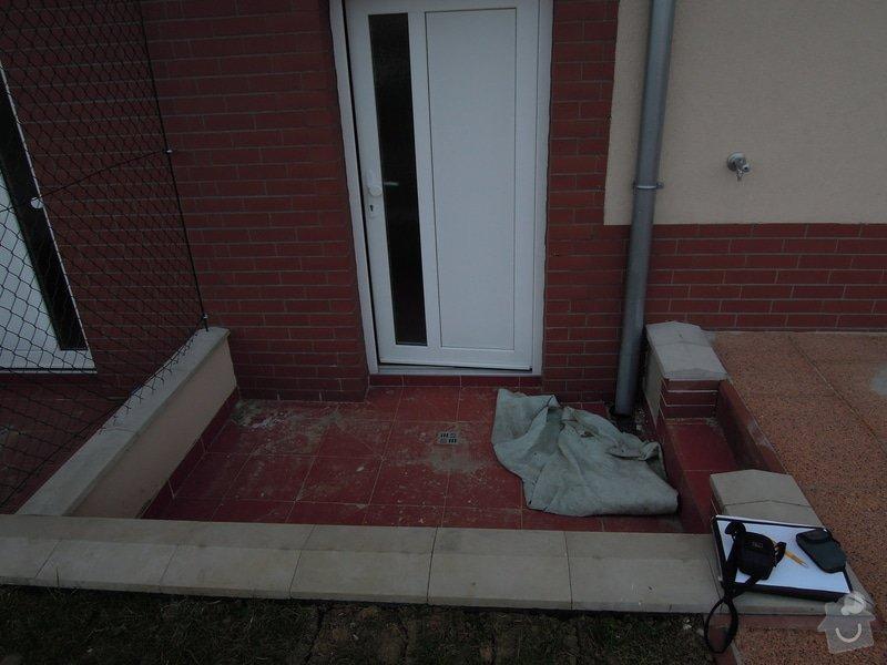 Zastřešení venkovní teras a vchodu na zahradu: DSCN7274