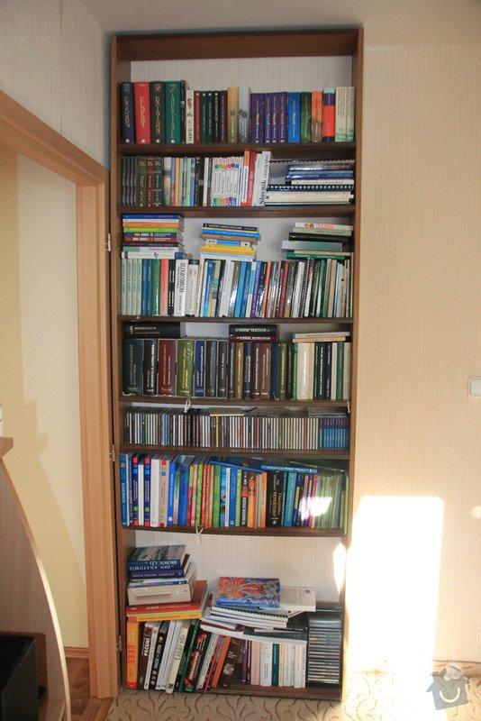 Výroba regálu na knihy a CD + poličky: IMG_8215