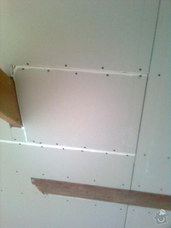 Oprava podkroví - nové schodiště, zateplení střechy, 2 střešní okna: Obraz1727