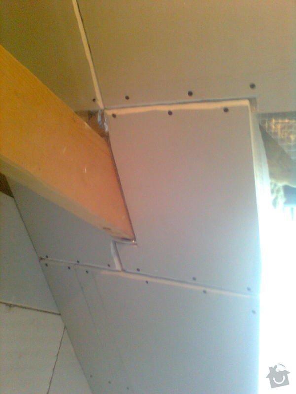 Oprava podkroví - nové schodiště, zateplení střechy, 2 střešní okna: Obraz1729