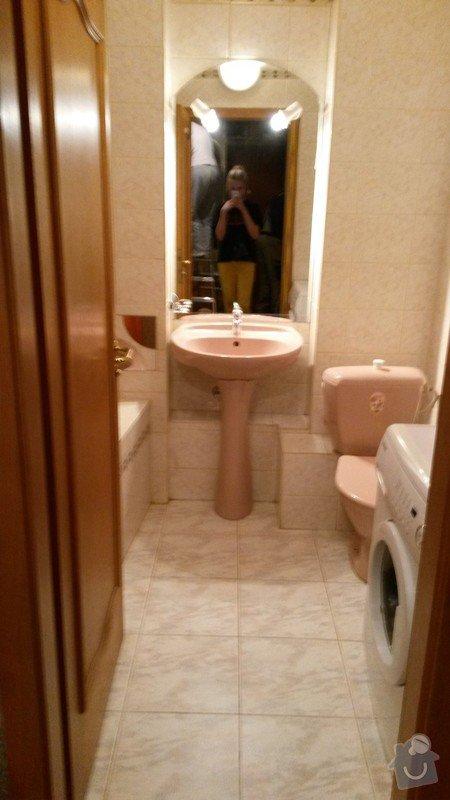 Rekonstrukci koupelny: 20140323_163829