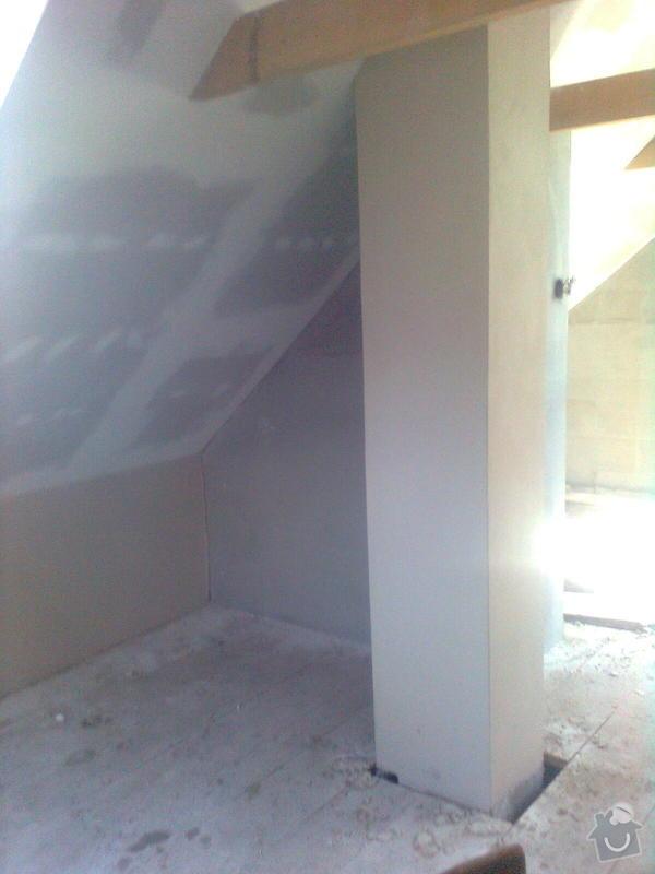 Oprava podkroví - nové schodiště, zateplení střechy, 2 střešní okna: Obraz1739