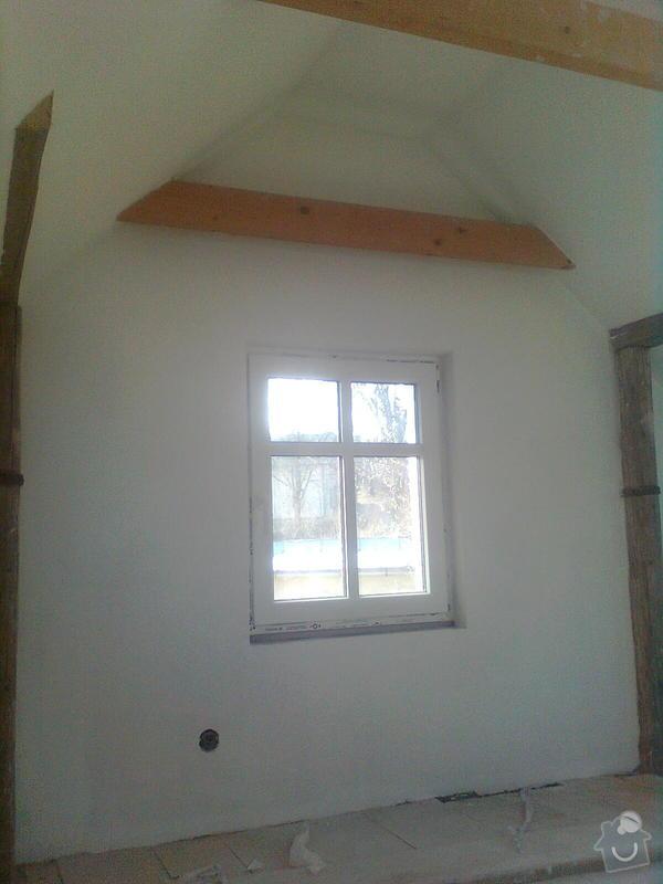 Oprava podkroví - nové schodiště, zateplení střechy, 2 střešní okna: Obraz1743