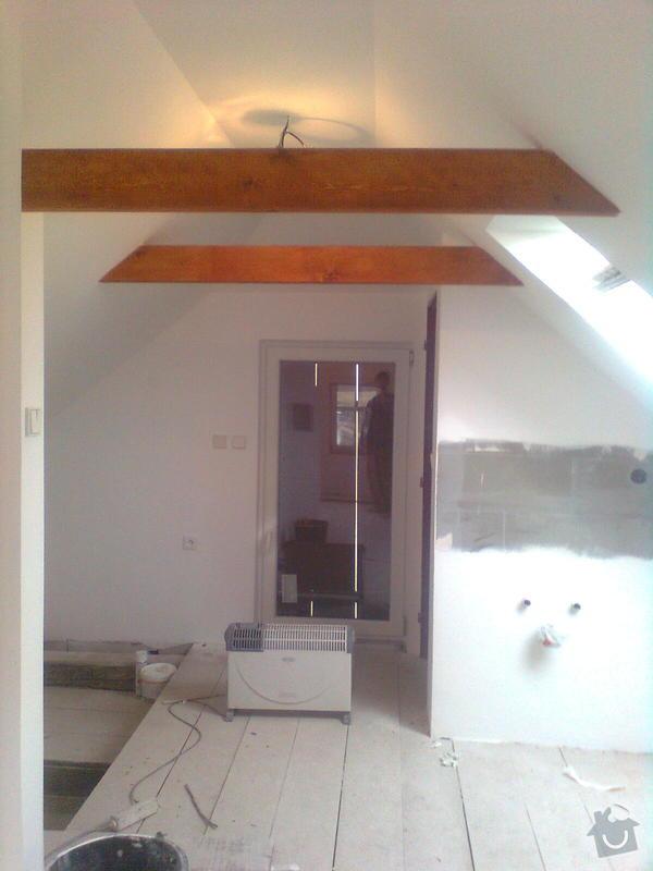Oprava podkroví - nové schodiště, zateplení střechy, 2 střešní okna: Obraz1747