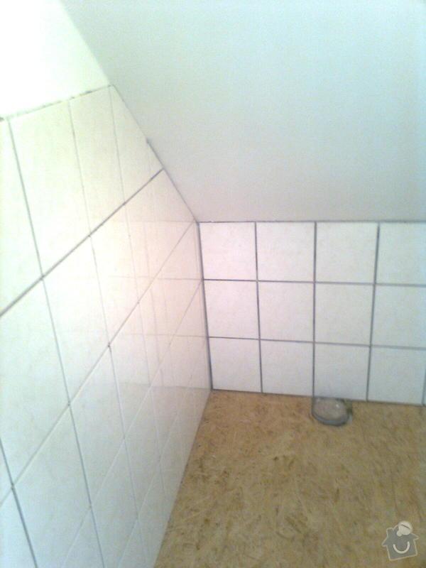 Oprava podkroví - nové schodiště, zateplení střechy, 2 střešní okna: Obraz1766