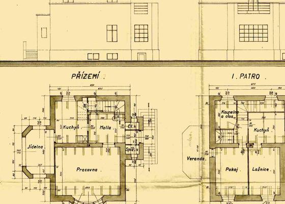 Rekonstrukce topení rodinného domu