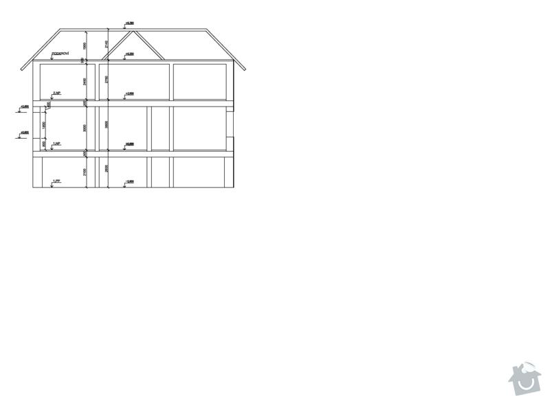 Rekonstrukce bytu v 1. patře a schodiště rodinného domu v Liberci: celkovy_pohled