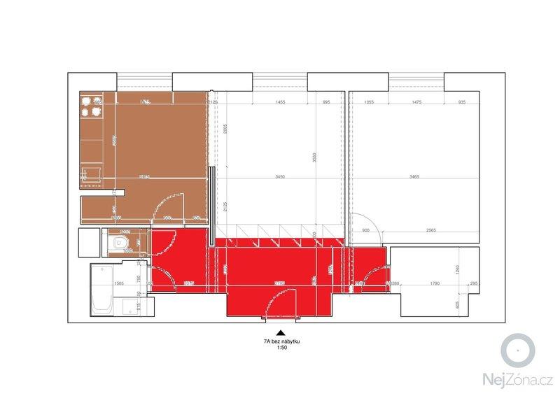 Pokládka přírodního linolea - Armstrong Marmorette: Podlaha_-_plocha