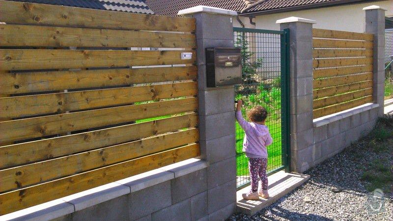 Dřevěná dvoukřídlá brána a branka: DSC_2039