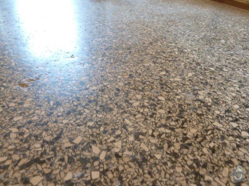 Čištění teraco podlahy: P1060651