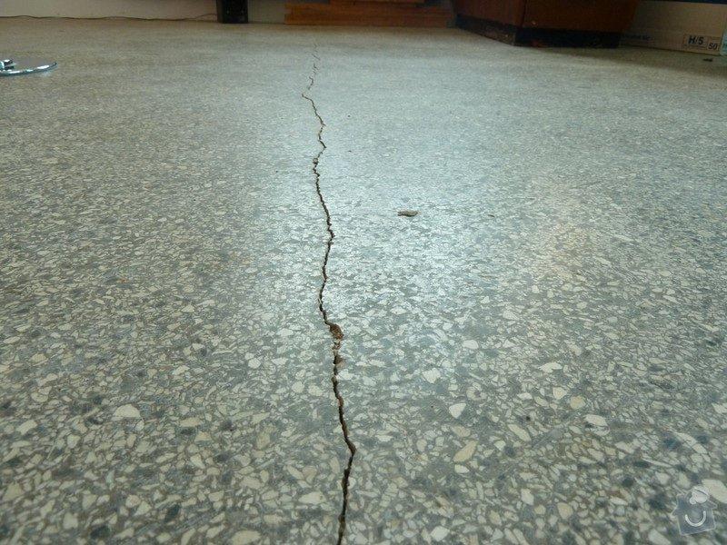Čištění teraco podlahy: P1060653
