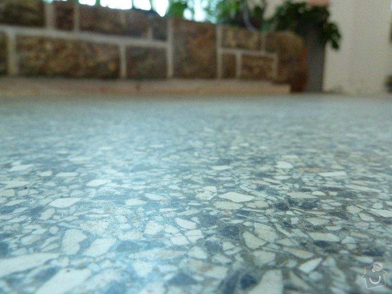 Čištění teraco podlahy: P1060657