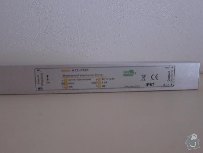 Výměna trafa u LED pásků: Kuchyne-trafo1