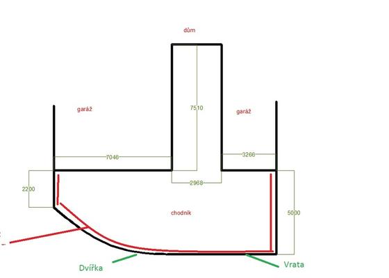 Zámková dlažba a plot