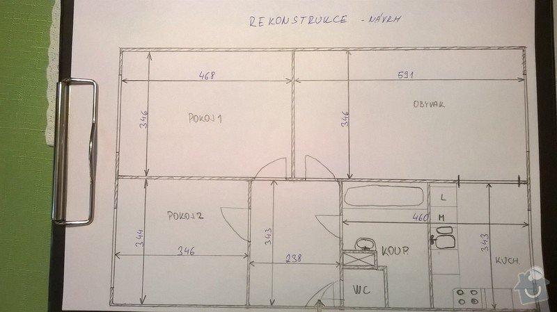 Rekonstrukce bytu 3+1 brno: realizace_navrh_1