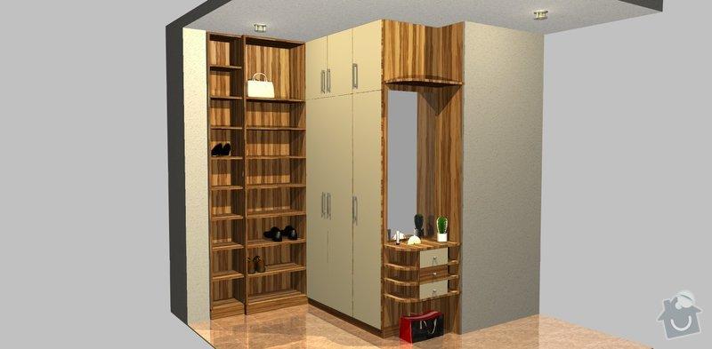 Botkík a šatní skříň: predsin_Varianta_A
