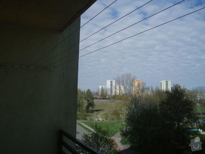 Zasklení balkonu: P4213573