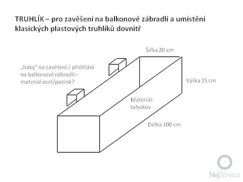 Zámečnická výroba truhlíků z tahokovu, oceli: truhlik_tahokov
