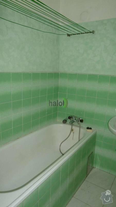 Rekonstrukce koupelny: koupelna_sara