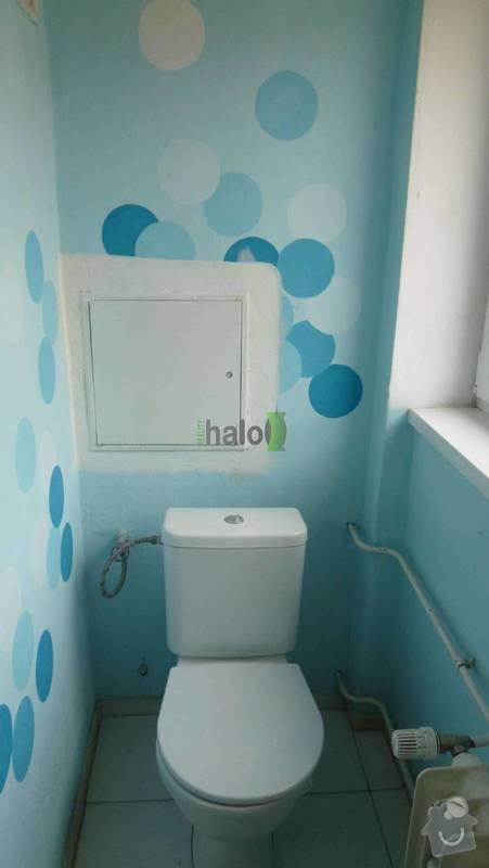 Rekonstrukce koupelny: wc