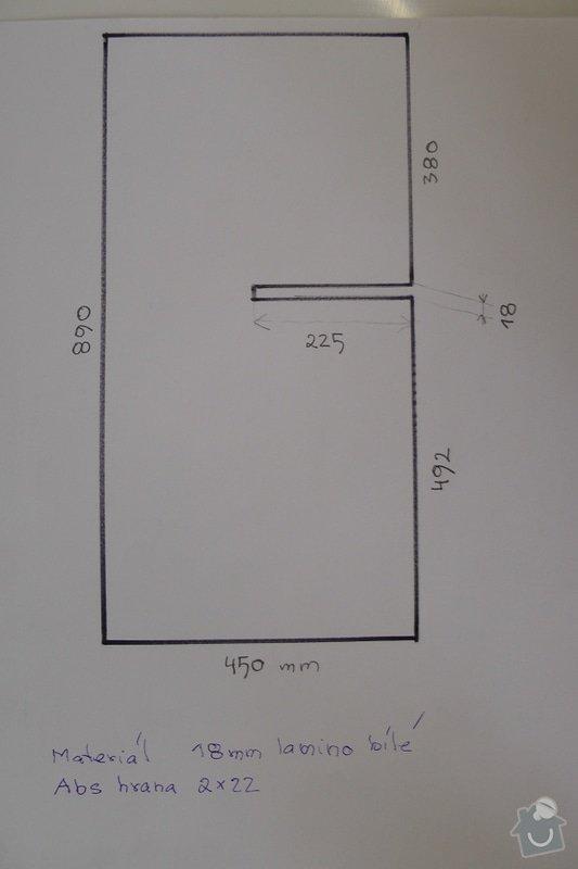 Výroba stolků: S1350149