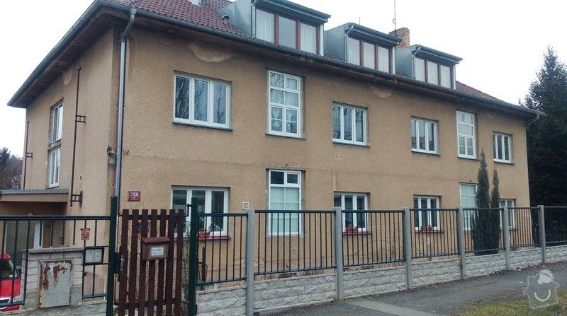 Zateplení fasády bytového domu: IMAG0177
