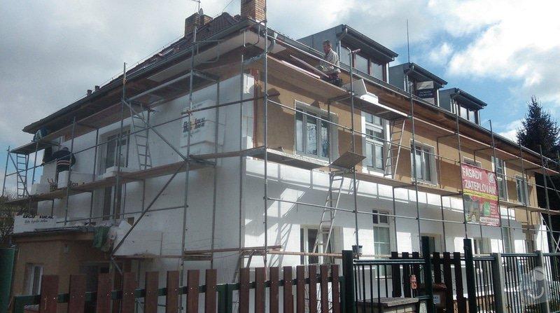 Zateplení fasády bytového domu: IMAG0213