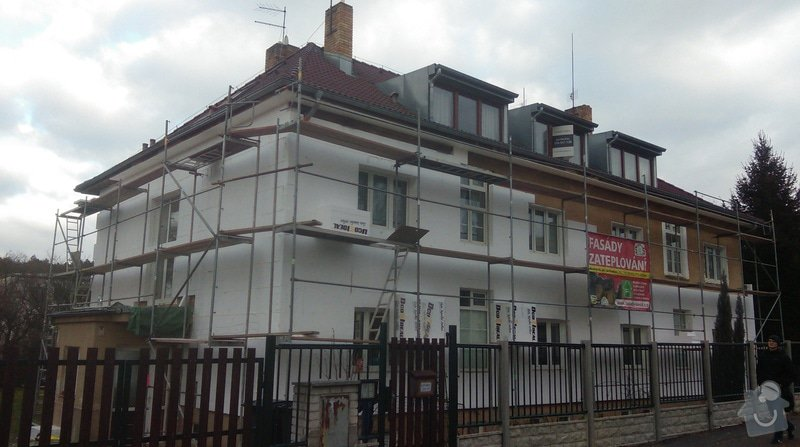 Zateplení fasády bytového domu: IMAG0214