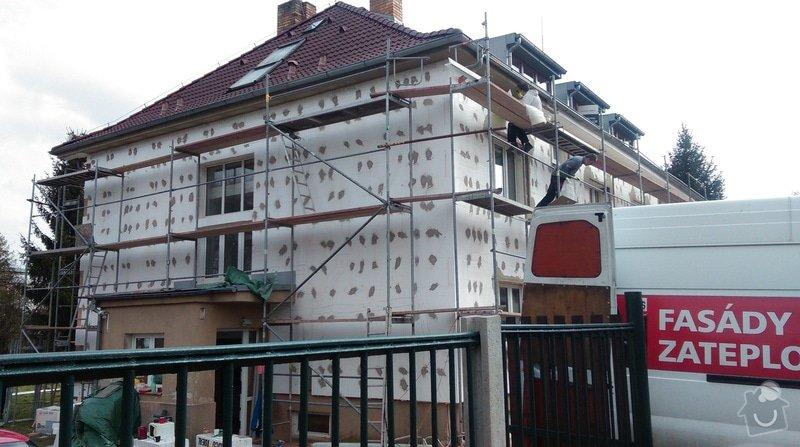 Zateplení fasády bytového domu: IMAG0232