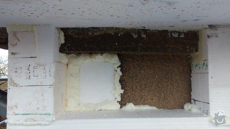 Zateplení fasády bytového domu: IMAG0233