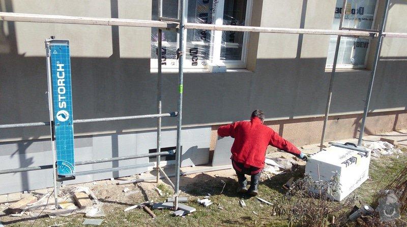 Zateplení fasády bytového domu: IMAG0251