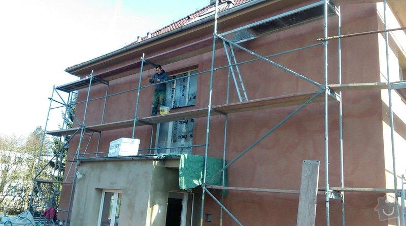 Zateplení fasády bytového domu: IMAG0255