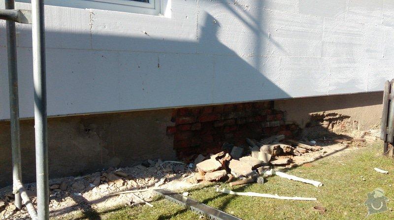 Zateplení fasády bytového domu: IMAG0256
