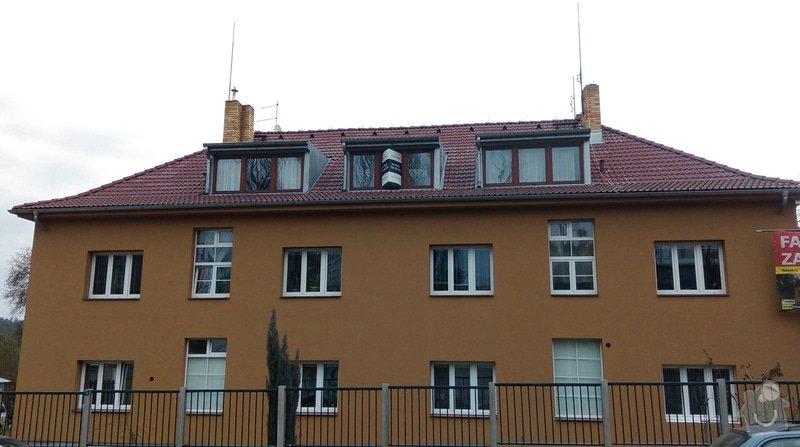 Zateplení fasády bytového domu: IMAG0264