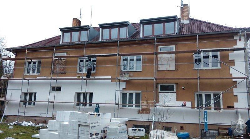 Zateplení fasády bytového domu: IMAG0268