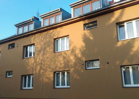 Zateplení fasády bytového domu
