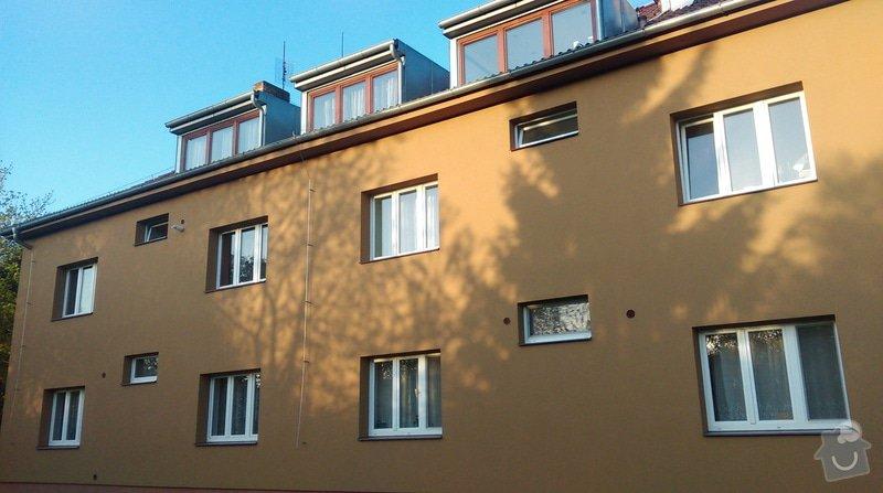 Zateplení fasády bytového domu: IMAG0305