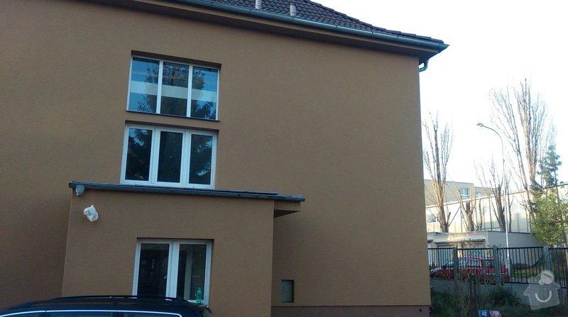 Zateplení fasády bytového domu: IMAG0308