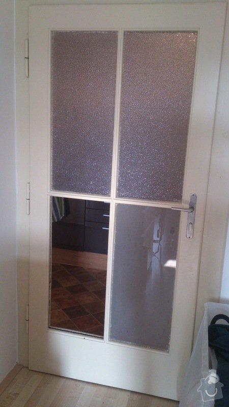 Oprava skleněných dveří: DSC_0221