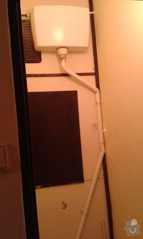 Výměna nádržky a potrubí u záchodu: 20150424_191455