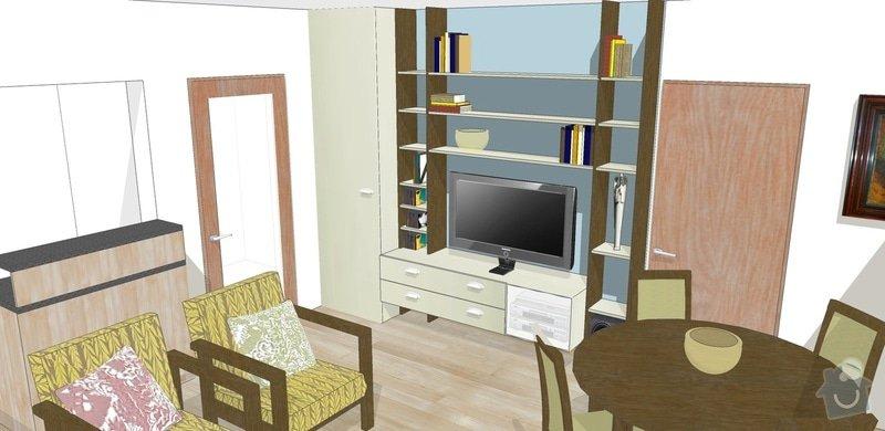 Návrh a rekonstrukce obývacího pokoje: 7