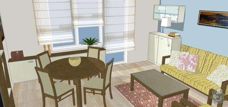 Návrh a rekonstrukce obývacího pokoje: 8