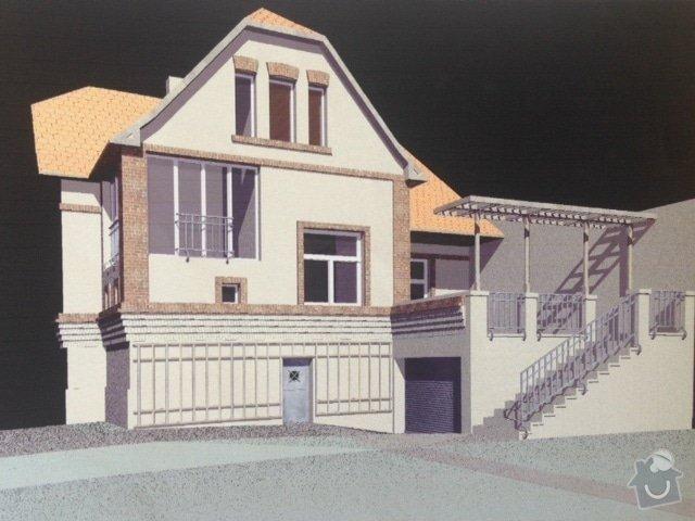 Pristavba garaze s terasou k RD, Poděbrady: Foto_1_