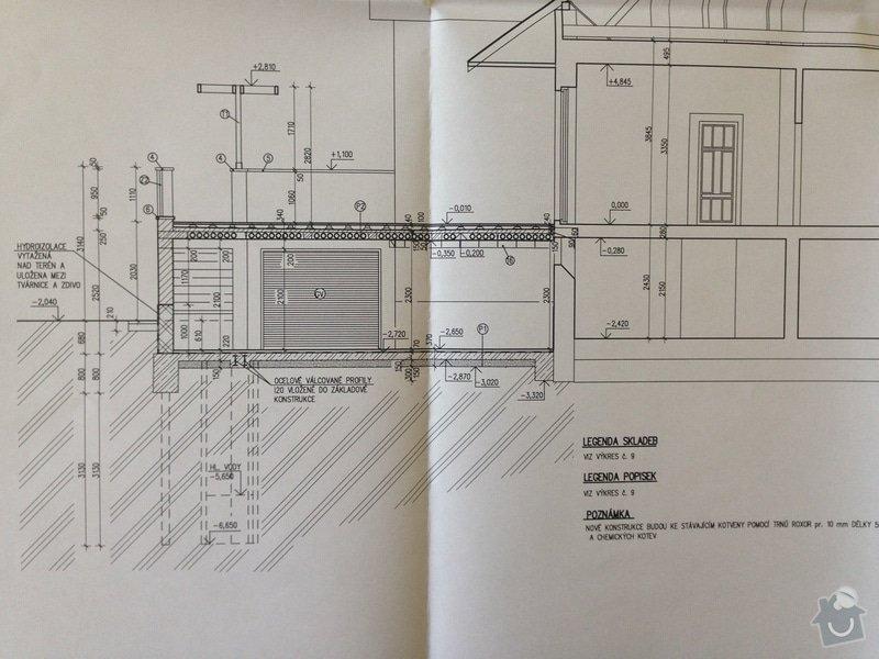 Pristavba garaze s terasou k RD, Poděbrady: Foto_1