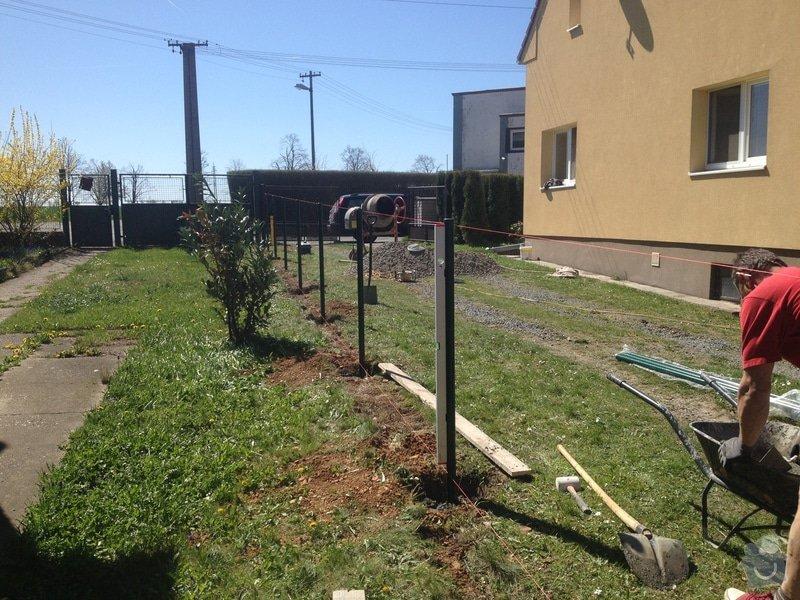 Oplocení pozemku: plot_z