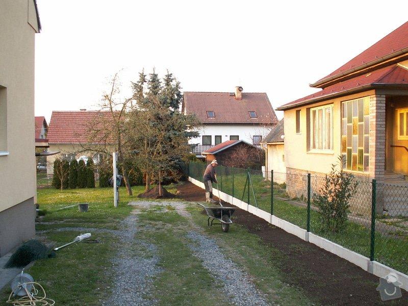 Oplocení pozemku: plot3
