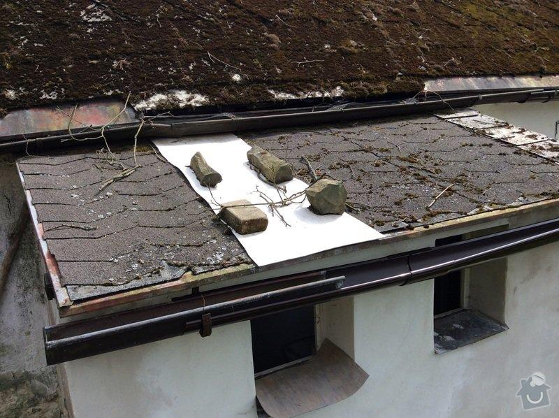 Rekonstrukce střechy koupelny: image