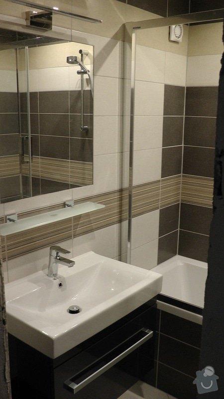 Kompletní rekonstrukce koupelny a toalety: 216-08