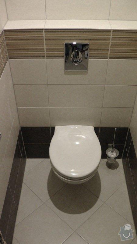 Kompletní rekonstrukce koupelny a toalety: 216-09