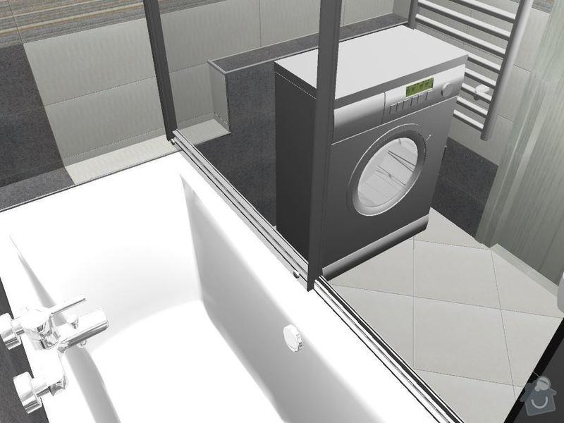 Kompletní rekonstrukce koupelny a toalety: 3D-02